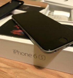 iPhone 6S на 16Gb Ростест идеальное состояние