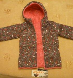 116р. Gusti новая куртка