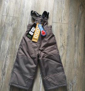 Gusti 24/90 детские тёплые непромокаемые штаны