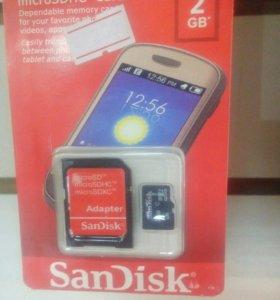 MicroSDHC Card 2GB