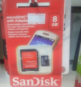 micro SDHC 8GB