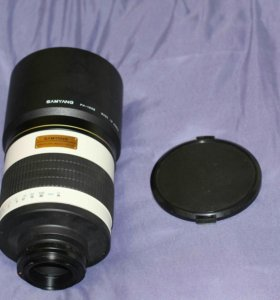 Объектив Samyang MF 800mm f/8.0 Mirror (T-mount)