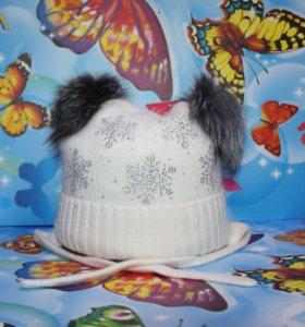 Детская Зимняя шапка Ocean Angel 4271 White