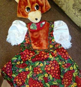 Детский костюм ,на девочку .3-4 года .