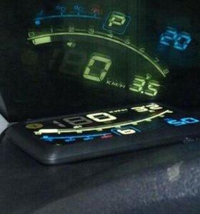 Новый OBD2 проектор на лобовое стекло (HUD)