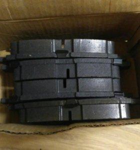 Колодки тормозные передние BYD F3 новые