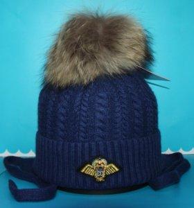 Шапка детская зимняя Angillini 6092 blue