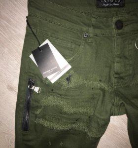 Люксового качества мужские джинсы