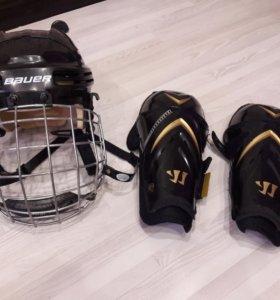 для хоккея шлем 3000т.р  щитки 1000тр