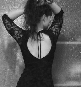 Платье. Настоящий гепюр.