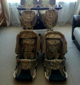 Коляска детская двухместная для двойни