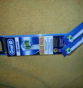 Насадки 2 шт Oral-B 3D white