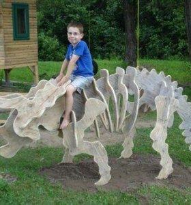 3 д макеты динозавров из фанеры