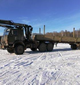 Перевозка различных грузов до 9 метров. Манипулято