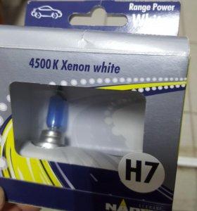 Лампа h7 супер белая narva (германия) под ксенон 4