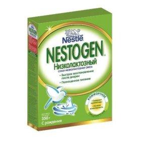 Смесь Nestle Nestogen низколактозная 350г с 0мес