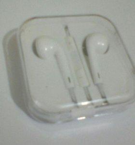 Оригинальные наушники iPhone 5s