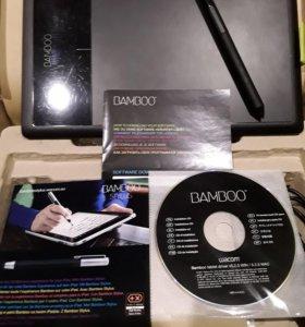 Графический планшет Wacom Bamboo Pen CTL-470K