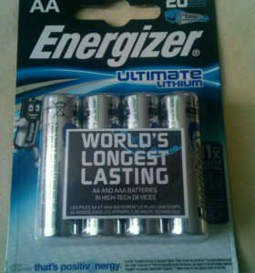 Литиевые батареи АА