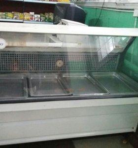 Холодильный прилавок б/у раб. сост. Торг
