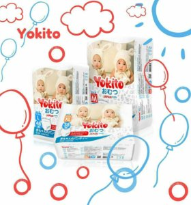 Подгузники-трусики YOKITO качества PREMIUM