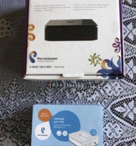 Интерактивное тв с роутером Wi-Fi