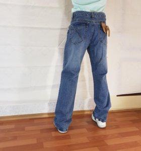 """Джинсы """"Qianhuniao Jeans Wear """" .size 36 Талия 98с"""