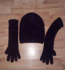 продам набор шапка и перчатки