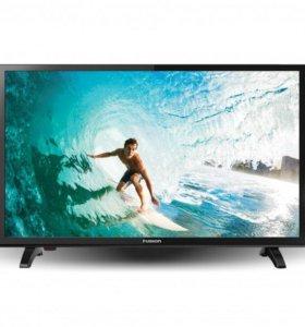 Новый ЖК телевизор 57 см с гарантей