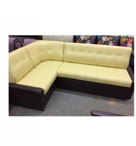 Лайм Кухонный угловой диван