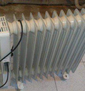 Обогреватель масляный 12секци плюс тепловентилятор