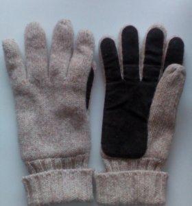 Новые рабочие тёплые перчатки.