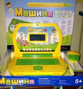 Детский компьютер с цветным экраном