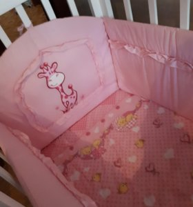 Бортик в кровать