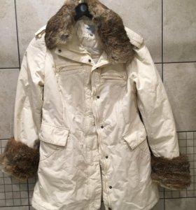 Куртка с мехом Finn flare
