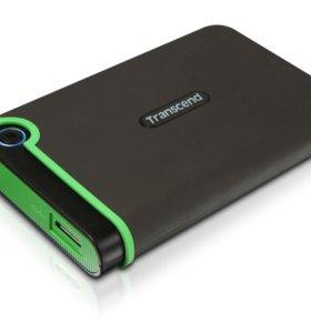 Внешний жесткий диск Transcend USB 3.0 HDD 500 гб