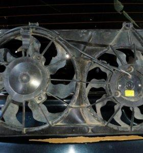 Вентилятор на ВАЗ 2170 с кондером(приора).