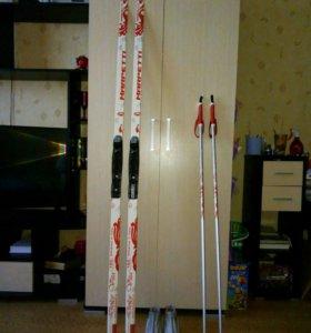 Беговые лыжи.