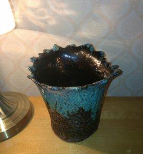Ваза хэндмейд керамика