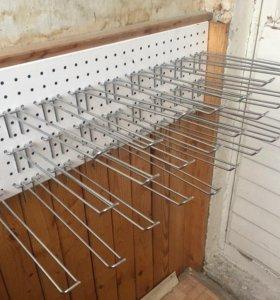 Крючки для перфорированной панели, перфорации