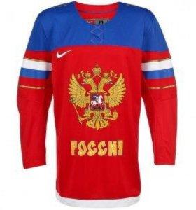 Хоккейная футболка nike iihf jersey 1.3 - russia