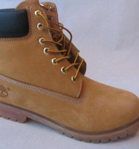 Ботинки Timberland Демисезонные Нубук С.Пес.Беж.40