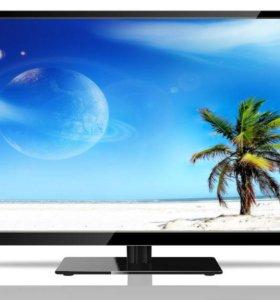 ЖК телевизор + DVВ-Т2 20 каналов и USВмедиа Геленд