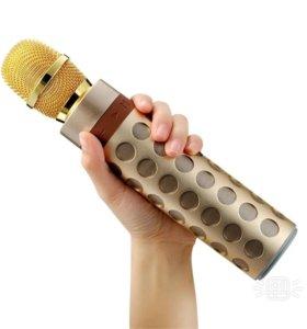 Bluetooth колонка + караоке микрофон