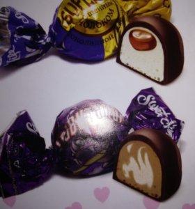 Конфеты шоколадные в наличии