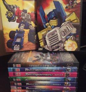 DVD диски с мультфильмами для мальчиков