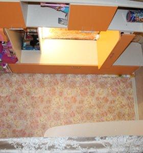 детская стенка с писменным столом