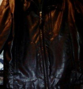 Куртка кож-зам женская