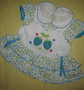 Платье, майка-туника