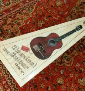 Гитара Denn новая